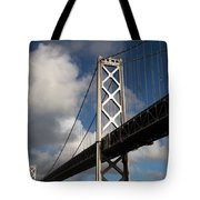 Bay Bridge After The Storm Tote Bag