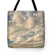 Bay Clouds Tote Bag