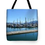 Bay In Seward Alaska Tote Bag