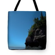 Bay Of Fundy Landmark Tote Bag