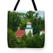 Bay Of Green Bay Lighthouse Tote Bag