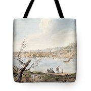 Bay Of Naples From Sea Shore Tote Bag