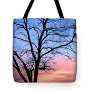 Bay Sunset Tote Bag