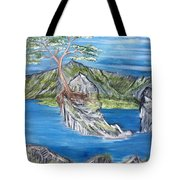 Bay View In Oregon Tote Bag