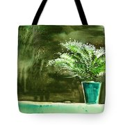 Bay Window Plant Tote Bag