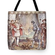 Bayard Presented To Henry Viii Tote Bag