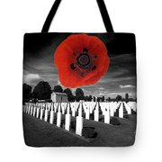 Bayeaux Cemetry  Tote Bag