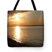 Bayville Sunset Tote Bag by John Telfer