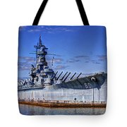 Bb-60 Uss Alabama Tote Bag