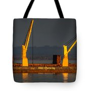 Bbc Chartering Tote Bag by Paul Freidlund