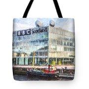 Bbc Scotland Broadcasting Centre Glasgow Tote Bag