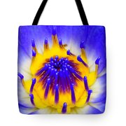 Blue Brilliance Number Two Tote Bag