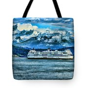 B.c. Ferries Hdr Tote Bag