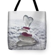 Be Careful With My Heart Tote Bag