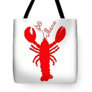 Be Mine Lobster With Feelers 20150207 Tote Bag