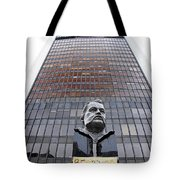 Be The Change Tote Bag by Valentino Visentini