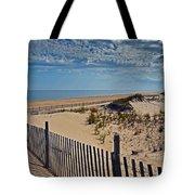 Beach At Cape Henlopen Tote Bag