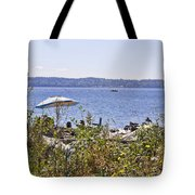 Beach At Maury Island Tote Bag