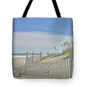 Beach At Outer Banks Tote Bag