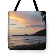 Beach At Sunset 6 Tote Bag