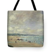 Beach At Trouville Tote Bag