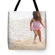 Beach Baby Tote Bag