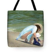 Beach Baby Tote Bag