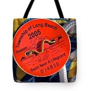 Beach Badge 2005 Tote Bag