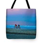 Beach Biking  Tote Bag