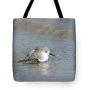 Beach Bird Bath 5 Tote Bag