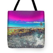 Beach Blindness Tote Bag by Annette Allman