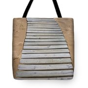 Beach Boardwalk Tote Bag