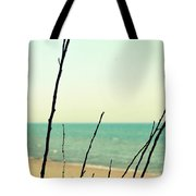Beach Branches Tote Bag