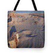 Beach Brick Tote Bag