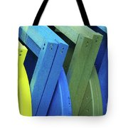 Beach Chair Palette 2 Tote Bag