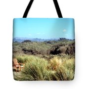 Beach Chairs With A View Tote Bag