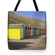 Beach Chalets - Whitby Tote Bag