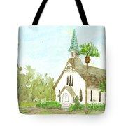 Beach Church Tote Bag