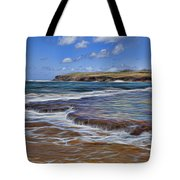 Beach Colors Tote Bag