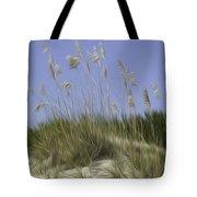 Beach Dune Pixelated Tote Bag
