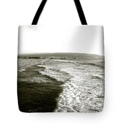 Beach Far From The Buildings Tote Bag