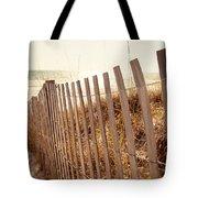 Beach Fencing Tote Bag