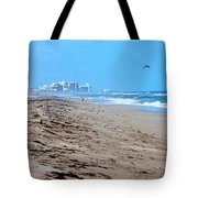 Beach Front 002 Tote Bag