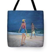 Beach Games Tote Bag