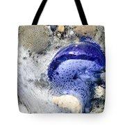Beach Glass In Flowing Water Tote Bag
