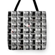 Beach Hotel Tote Bag