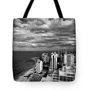 Beach Hotels San Juan Puerto Rico Tote Bag