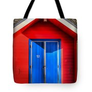 Beach Hut 12 Tote Bag