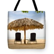 Beach Hut For Two Tote Bag