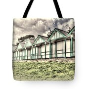 Beach Huts 4 Tote Bag